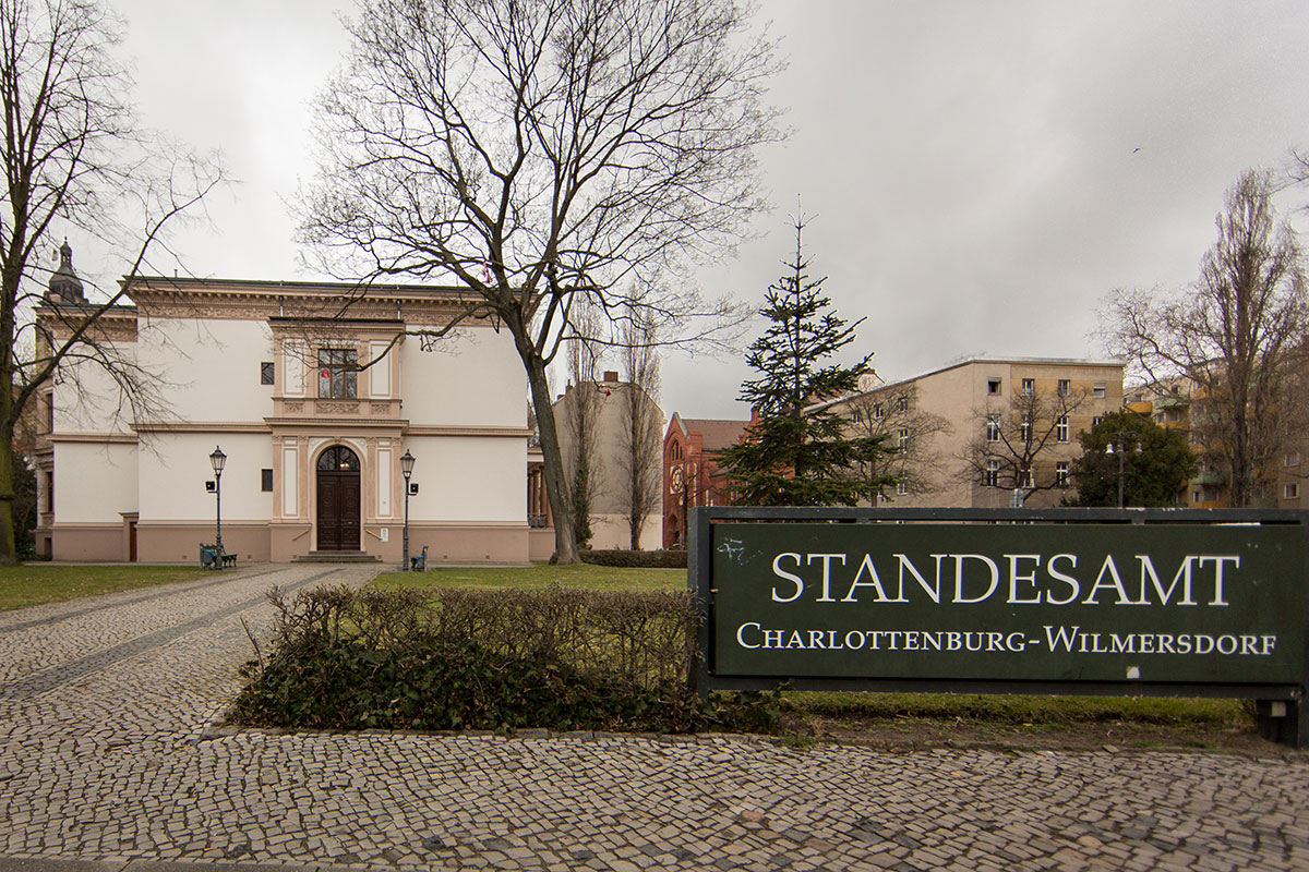 Standesamt Charlottenburg Wilmersdorf
